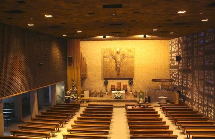 Interior de la Iglesia de Nuestra Señora del Carmen, Zaragoza- Archivo del Gobierno de Aragón