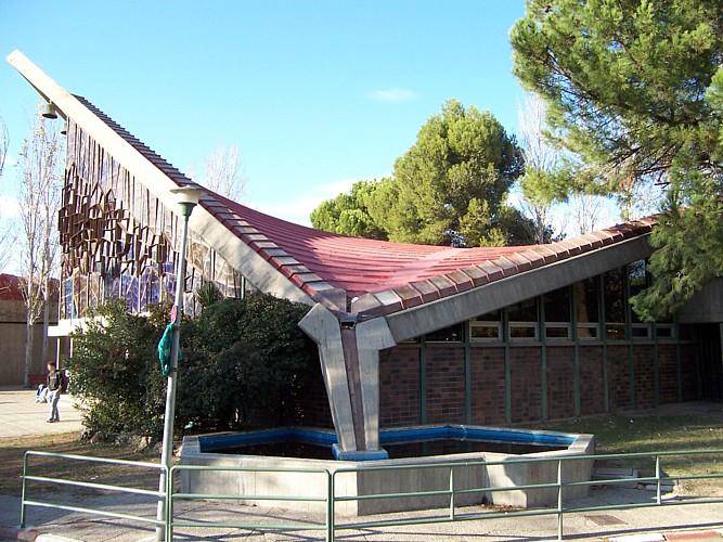 Iglesia del Colegio de Santa María del Pilar (Marianistas), Zaragoza- Archivo del Gobierno de Aragón